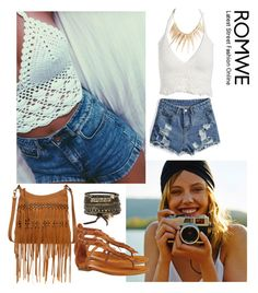 """""""Romwe 10"""" by amra-f ❤ liked on Polyvore featuring Carlos by Carlos Santana, BKE and Lucky Brand"""
