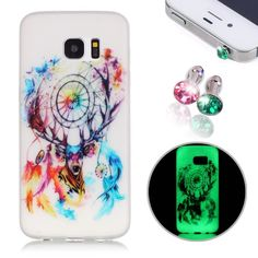 Samsung Galaxy S7 Case, Pershoo, Silicone S7 Case, Cute Case Luminous Series Ultra-Slim Scrub Anti-Scratch & Fingerprint & Oil Stain Colorful Printing Case + 2pcs Crystal Dust Plug for S7, Small Fawn. 100% new product compatible with Samsung Galaxy S7. Perfect to provide you a light weight and slim solution. It keeps the true feeling of Samsung Galaxy S7 and preserves its original beauty. TPU bumper cushions offer shock-absorbing protection from the impact of accidental falls or drops...