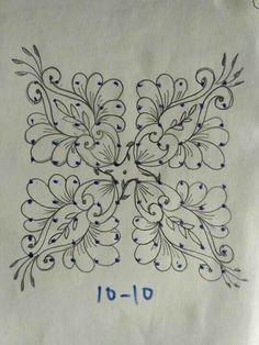 Rangoli Designs Flower, Small Rangoli Design, Rangoli Patterns, Rangoli Ideas, Rangoli Designs With Dots, Rangoli Designs Diwali, Rangoli Designs Images, Kolam Rangoli, Flower Rangoli