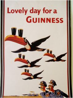 Guiness poster