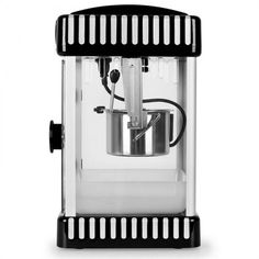 Volcano Popcorn Machine Stainless Steel Kettle Black - Whenever someone plans a movie night, the question of snacks always arises. With the Klarstein Volcano popcorn machine, the answer is quickl Stainless Steel Kettle, Homemade Popcorn, Pop Corn, Fun Cooking, Volcano, Popcorn Maker, Kitchen Appliances, This Or That Questions, Modern