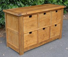 Ana White Build a Dumpster Dresser from Free and Easy DIY Project and Furniture Plans Diy Projects Plans, Diy Wood Projects, Furniture Projects, Furniture Plans, Home Projects, Home Furniture, Luxury Furniture, Furniture Outlet, Furniture Stores