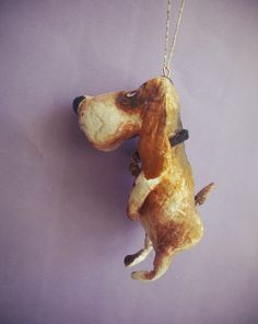 Alfina Erokhina | VK Dog Christmas Ornaments, Christmas Dog, Christmas Decorations, Xmas, Clay Fish, Cotton Crafts, Winter Time, Clay Art, Decor Crafts