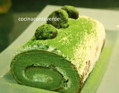 COOKING WITH JAPANESE GREEN TEA: Matcha Roll Cake