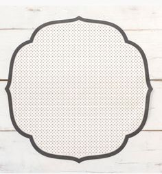 Swiss Dot Placemat