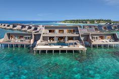 Chennai, Maldives Resort, Maldives Beach, Maldives Honeymoon, Maldives Travel, Water Villa, Luxury Swimming Pools, Overwater Bungalows, Landscape Concept