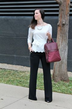 What to Wear to Work || Beautifully Elegant Blog