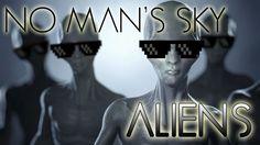 No Man's Sky Aliens #NoMansSky