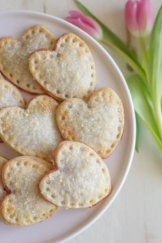Make these cute heart shaped Strawberry hand pies.