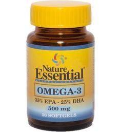 50 perlas de Omega 3 500mg. Colesterol, corazón y movilidad articular.  Los dos ácidos grasos Omega 3 más importantes, EPA y DHA. El DHA es el más importante para las madres embarazadas y lactantes y los niños pequeños para un desarrollo saludable del cerebro y la visión, el EPA puede ser considerado como el más importante para el cerebro y el cuerpo a nivel celular.