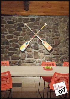 Oars Upcycled Into Beautiful Artwork -