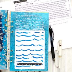 Advent Mixed Media Art Worship Art Journal using the Naptime Diaries Advent Devotional and Calendars | Day 11