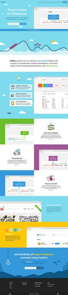 A website design example on Crayon A Landing Page on theresumator - the resumator