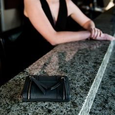 Karla Hanson - Black Women's Wallet - $49.99/each This Ladies Fashion Wallet is made from cow leather with a golden finish, approximately 13 x 2 x 9.5 cm. Presented by  www.ecomcreator.com Fashion Wallet, Ladies Fashion, Womens Fashion, Wallets For Women Leather, Cow Leather, Chanel Boy Bag, Leather Wallet, Burgundy, Shoulder Bag