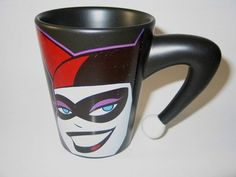 Harley Quinn coffee cup!!!!! UH-mAzInG!