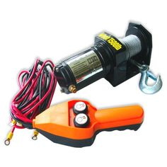 Neiko ATV Electric Cable Winch with Handheld Remote Control - 1500 LB Capacity - http://www.caraccessoriesonlinemarket.com/neiko-atv-electric-cable-winch-with-handheld-remote-control-1500-lb-capacity/  #1500, #Cable, #Capacity, #Control, #Electric, #Handheld, #Neiko, #Remote, #Winch #Towing-Products-Winches, #Towing-Products-Winches, #Truck