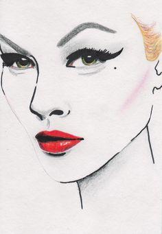 portrait, illustration