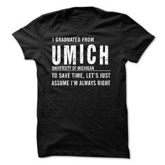 University of Michigan T Shirts, Hoodies, Sweatshirts. CHECK PRICE ==► https://www.sunfrog.com/LifeStyle/University-of-Michigan.html?41382