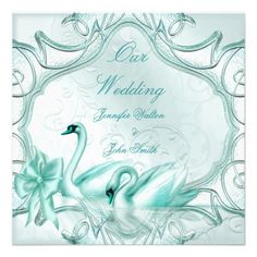 This DealsElegant Wedding Teal Blue Swans Bow InvitesWe have the best promotion for you and if you are interested in the related item or need more information reviews from the x customer who are own of them before please follow the link to see fully reviews