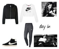 """""""14.1."""" by ronniebenett ❤ liked on Polyvore featuring GET LOST and NIKE"""