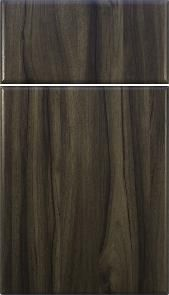 Contemporary in Walnut Thermofoil M and J Woodcrafts - Your Wholesale Cabinet Door Manufacturers
