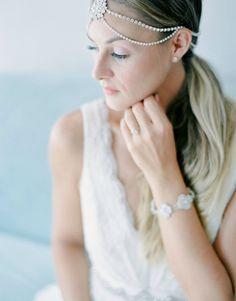 NESTINA ACCESSORIES RHINESTONE HEADDRESS