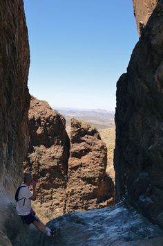 Looking Through the Window at Window Trail. Hiking advice for Big Bend National Park, #Texas.