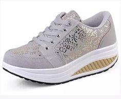 huge discount 40b8b b312e Encontrar Más Moda Mujer Sneakers Información acerca de Moda Dropship  pérdida de peso mujeres zapatillas primavera