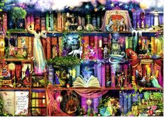 "Jigsaw Puzzles 1000 Pieces ""Fairytale Fantasia"" / Ravensburger / Fantasy #Ravensburger"