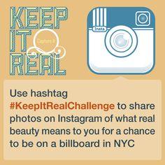 #KeepItReal