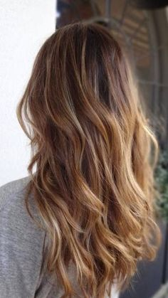 Bronde Hair Color: Love these honey bronde hair color!!