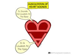 Nursing Mnemonics and Tips: Auscultation of Heart Sounds