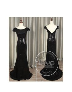 bbe5eef6fd0b7 Gorgeous black gold sparkly sequins prom bridesmaid dresses SB-009 - Bridesmaid  dresses - Only