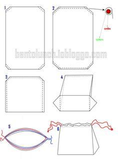 cartamodelli borse stoffa - Cerca con Google