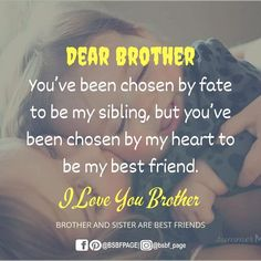 Tag-mention-share with your Brother and Sister 💙💚💛👍 Brother And Sister Relationship, Brother Sister Quotes, Brother And Sister Love, Your Brother, My Best Friend, Best Friends, Siblings Goals, Love Ya, Encouragement Quotes