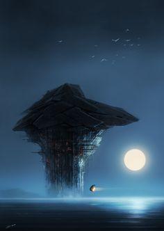 Moon Night by *SID75 on deviantART