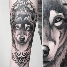 Tattoo News - Page 3 sur 5 - Tout sur le tatouage Wolf Tattoos, Baby Tattoos, Animal Tattoos, Wolf Tattoo Design, Tattoo Designs, Le Tattoo, Northern Lights Tattoo, Husky Tattoo, Wolf Sleeve
