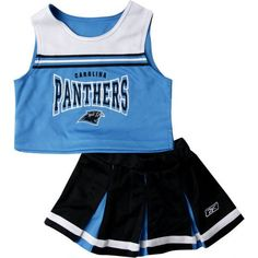 Carolina Panthers Cheerleading Outfit Pictures and Images ❤ liked on Polyvore featuring cheerleading, cheer, other and sports