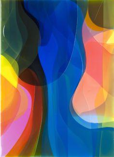 Peter Zimmermann – shake, 2013, 150 x 110 cm, epoxy resin on canvas