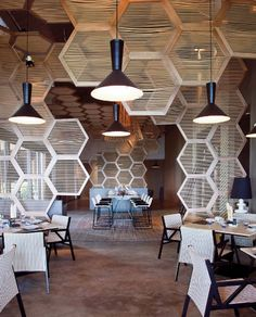 love the honeycomb look at the W, Vieques