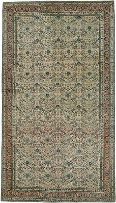 "Tabriz 7'10"" x 14' Circa 1880 Northwest Persia Ref no. 4754 {rugs, carpets, traditional, home collection, decor, warp & weft}"