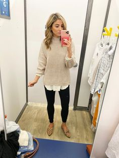 October Old Navy Try On – Lauren McBride - Creme Catalan Rezepte Fall Outfits For Work, Casual Work Outfits, Business Casual Outfits, Work Attire, Work Casual, Business Attire, Fashionable Outfits, Winter Outfits, Stylish Outfits