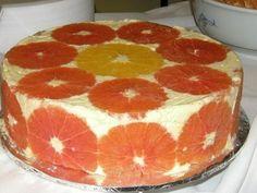 Tort diplomat cu portocale - imagine 1 mare