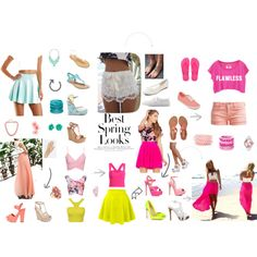 SPRING 2015 by paty-polyvore on Polyvore featuring Charlotte Russe, Le Temps Des Cerises, Steve Madden, GUESS, Jessica Simpson, Aéropostale, Havaianas, Sophia Webster, Vans and Christian Louboutin