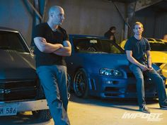 Brothers until the end. #FF4 #FastFurious #VinDiesel #PaulWalker
