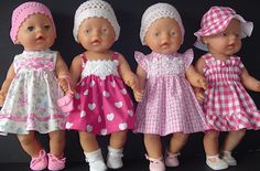 Marijke dolls clothing – Arts and Crafts Baby Born Clothes, Bitty Baby Clothes, Boy Doll Clothes, Knitting Dolls Clothes, Knitted Dolls, Doll Dress Patterns, Doll Sewing Patterns, Sewing Dolls, Baby Alive Dolls