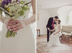 Elegant Stockholm wedding by 2Brides Photography