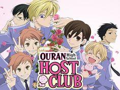 Host Club Anime, Ouran Host Club, High School Host Club, High School Girls, Brothers Conflict, Anime Titles, Ouran Highschool, 90s Cartoons, I Love Anime