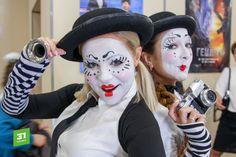 Mime Makeup, Halloween Face Makeup, Clowns, Joker, Female, News, Heart, Sweet, Makeup