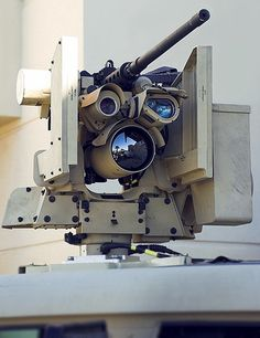 CROWS Common Remotely Operated Weapon Station with a .50 cal M2 Browning. via sid766